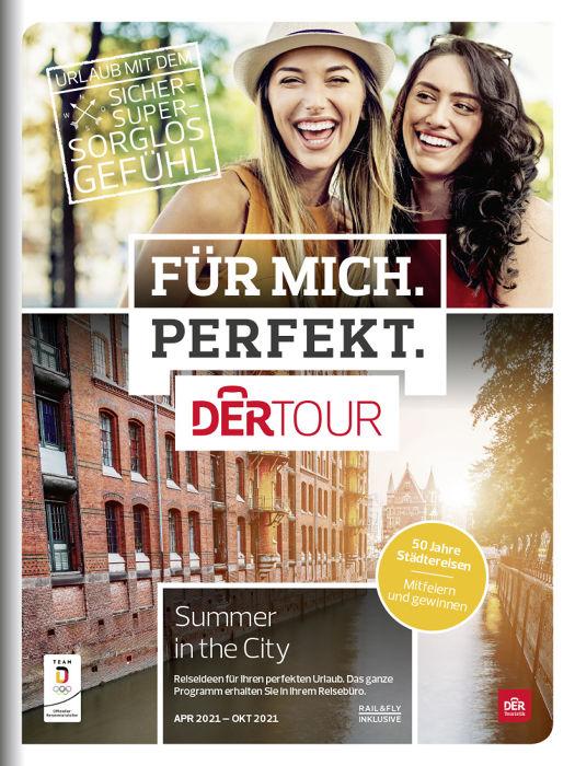 """BU: Der neue Dertour-Sonderkatalog """"Summer in the City"""" mit attraktiven Städtetrips für den Sommer"""