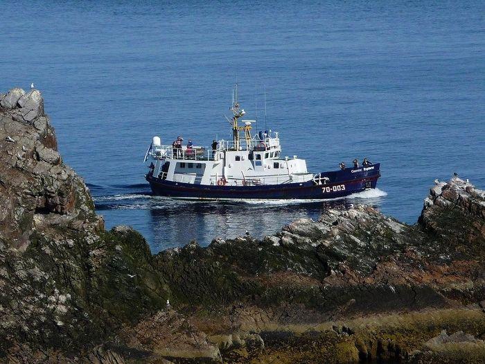 Ab Mai 2019 lassen sich die Hebriden mit diesem einstigen Seenotkreuzer entdecken.