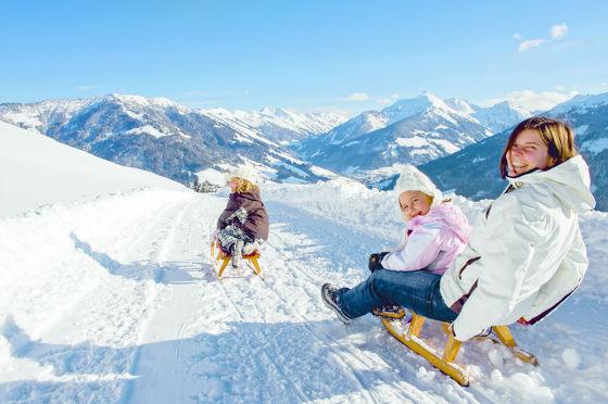 BU: Die Ostertage im Schnee mit viel Sonne und bei besten Pistenverhältnissen genießen.