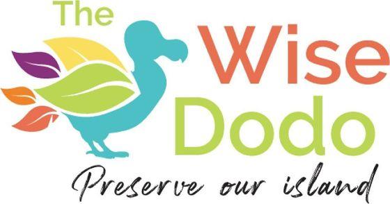 BU: Das Wise Dodo-Logo ziert der gleichnamige ausgestorbene Vogel, der auf Mauritius endemisch war. Seine sechs Farben visualisieren die sechs Nachhaltigkeitskriterien, welche die Wise Dodo-Reiseerlebnisse erfüllen müssen.